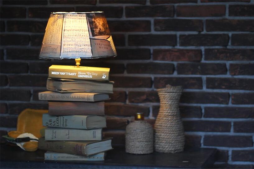 Fabulous Maak een lamp van oude boeken | Landleven #YY75