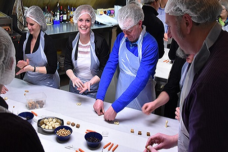 Workshop bonbons maken, workshop bierbonbons maken